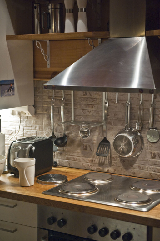 Viften virker best om du setter den på fem-ti minutter før du skal lage maten. Foto: Colourbox.com