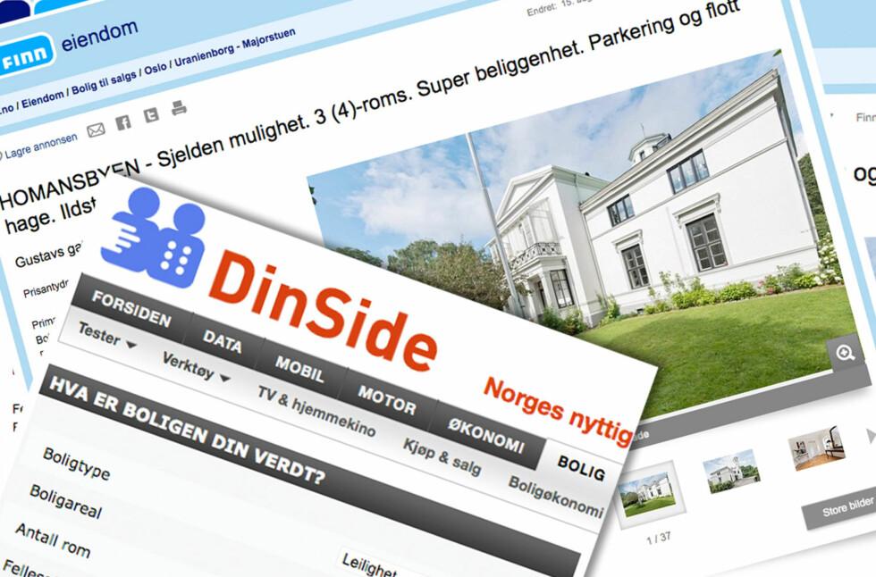 Eiendomsmeglerbransjen melder om at noen flere nå ønsker å selge sin egen bolig før de kjøper noe nytt. Men er det egentlig noen grunn til at norske boligkjøpere skal sette seg på gjerdet?  Foto: DinSide