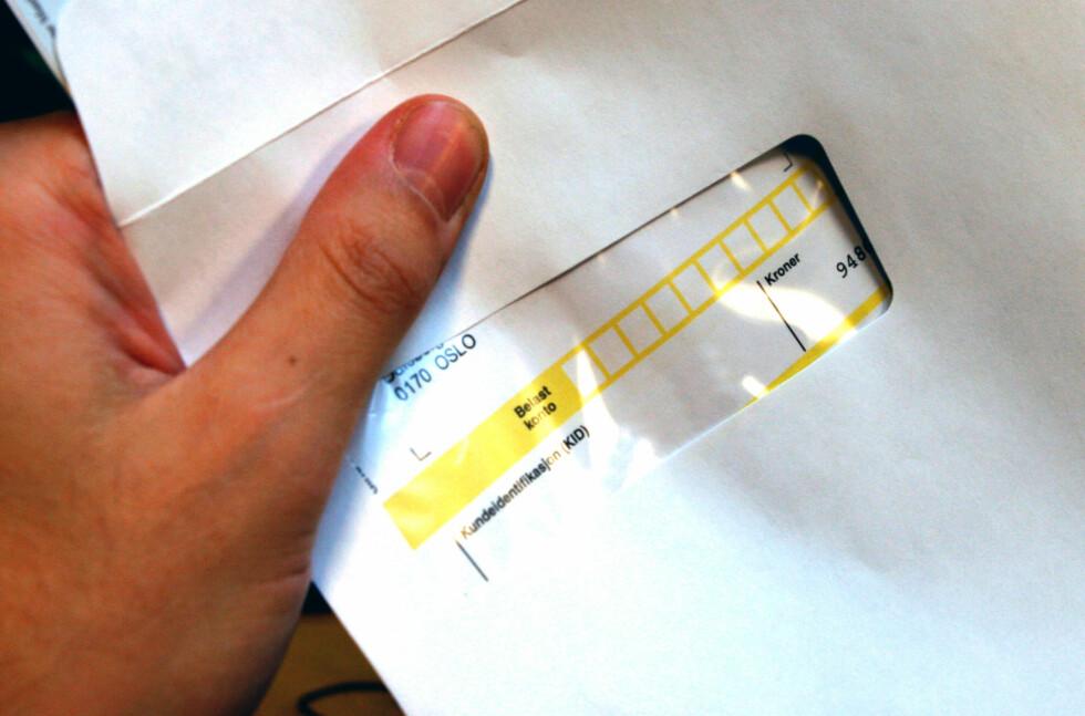 Får du regning for en tjeneste du ikke har brukt, er første steg å klage skriftlig til inkassobyrået. Foto: PER ERVLAND
