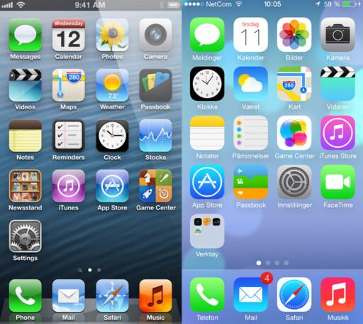 image: Se hva som er nytt i iOS 7