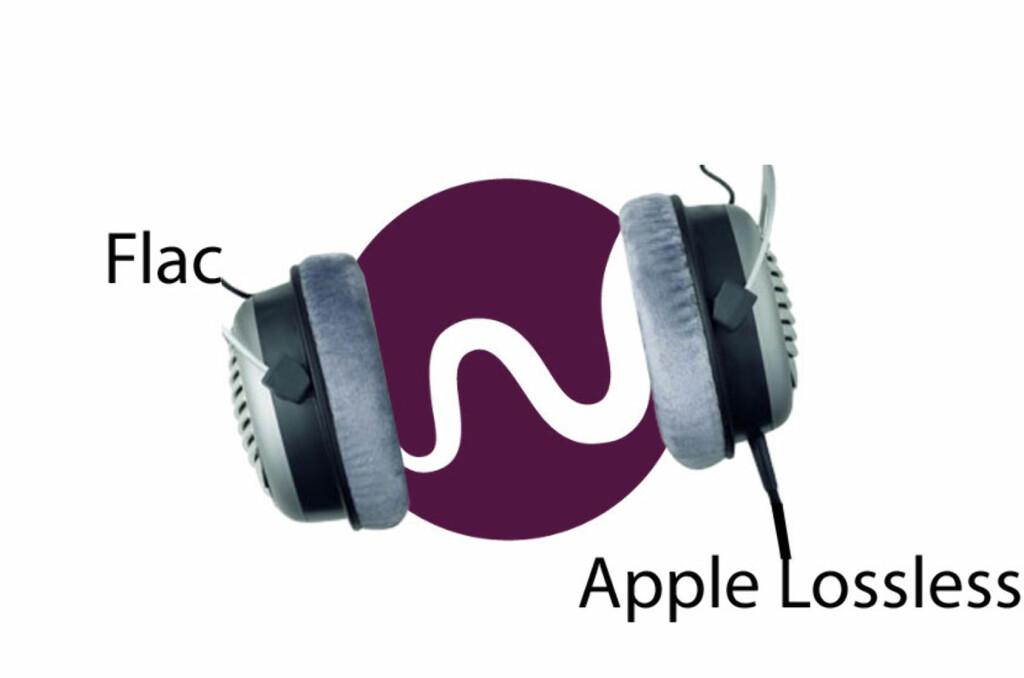 Mens iOS-versjonen bruker Apple Lossless, er det Flac som brukes på andre enheter (som Android-mobiler, samt Sonos og Bluesound-anlegg). Foto: Produktbilde