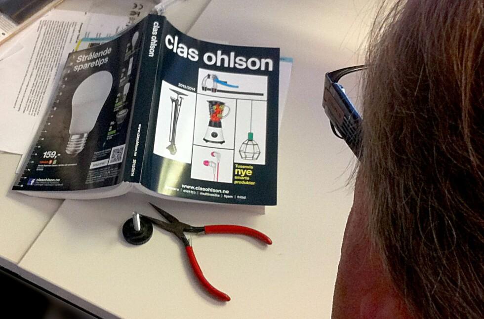 Nå har Clas Ohlson sluppet høstkatalogen.  Foto: Elisabeth Dalseg