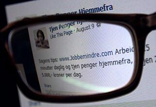 Avslør Facebook-svindel