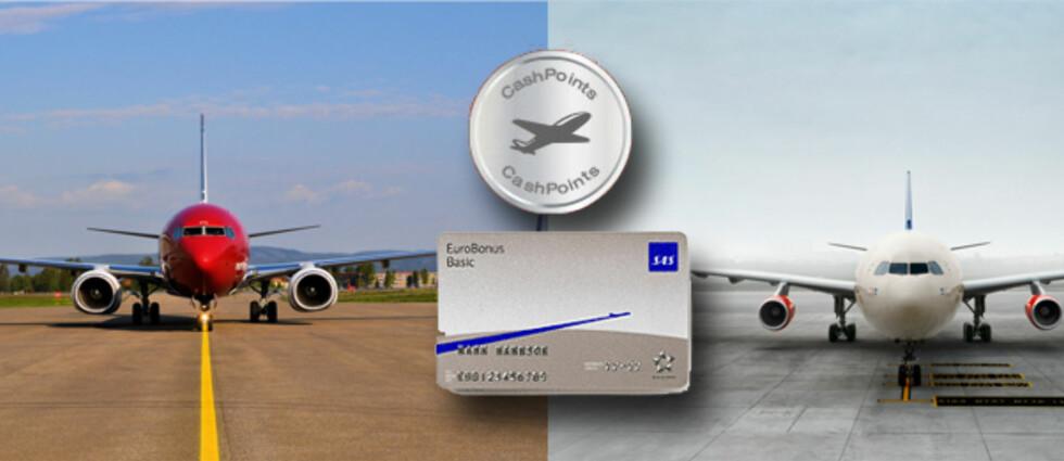 Vi har sammenliknet SAS' og Norwegians fordelsprogrammer, og SAS har det mest komplette tilbudet og den beste opptjeningen. Foto: Kristin Sørdal/SAS/Norwegian