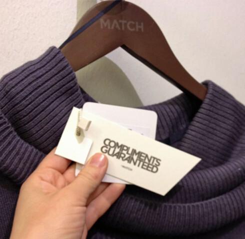Match garanterer at du får komplimenter for klærne. Men kan de garantere at plaggene er produsert under verdige forhold? Foto: Berit B. Njarga