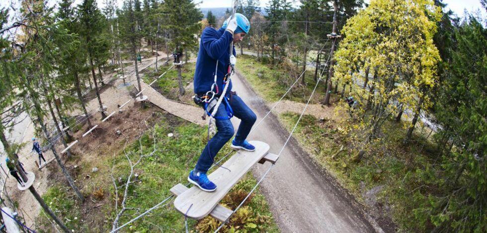 image: DinSide tester klatrepark