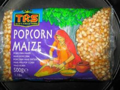I dette popcornet er det funnet spor av genmodifisert mais.  Foto: Mattilsynet