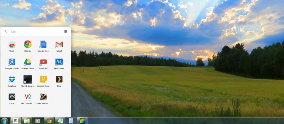 Med Chrome Appvelger og Chrome Packaged Apps vil Google vinne skrivebordet ditt. Foto: Bjørn Eirik Loftås