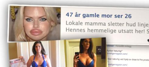 Tror svindelannonser skremmer Facebook-brukerne