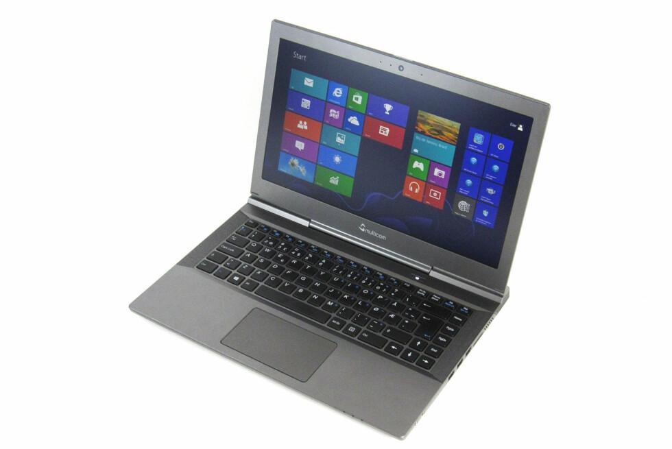 Dette er en av markedets kraftigste PC-er på under 2 kg. Foto: Bjørn Eirik Loftås