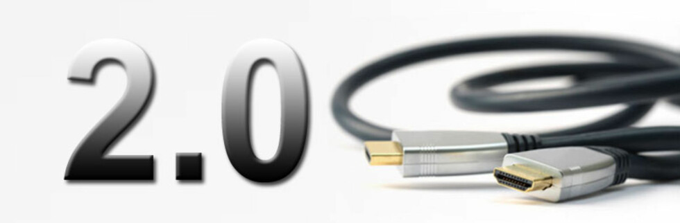 HDMI 2.0 avløser HDMI 1.4 som så dagens lys i 2009. Foto: HDMI.org/DinSide.no