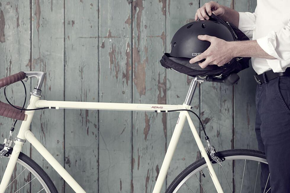 IKKE DYR: Helmmate koster bare noen hundrelapper i Danmark, og det jobbes med å få den distribuert i Norge.