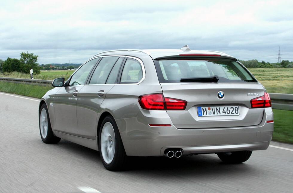 BMW er bilmerket som private bilister importerer flest av til Norge. Foto: Knut Moberg