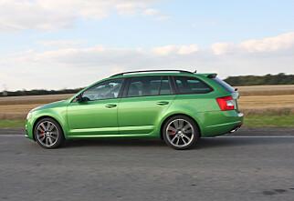 Skoda Octavia RS testkjørt