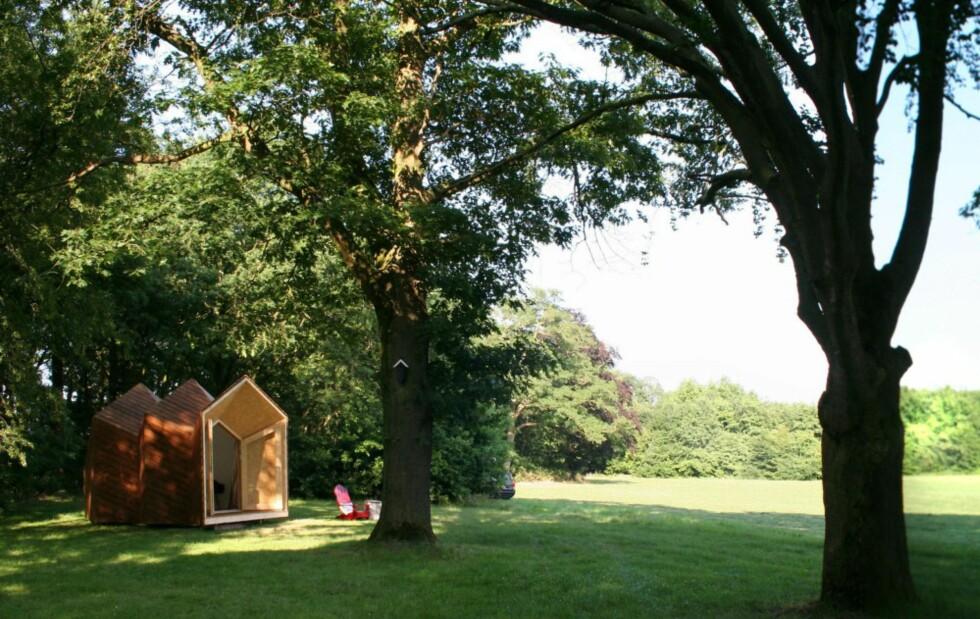 BESKJEDENT PÅ ALLE VIS: The Hermit Houses er, som navnet tilsier, ikke laget for at huseieren skal flotte seg. Tvertimot. Foto: The Cloud Collective