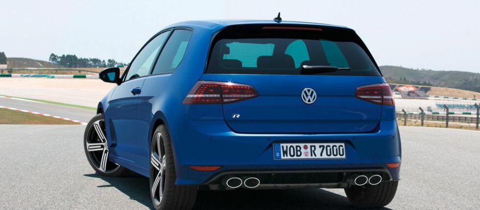 Golf R har aldri vært raskere, men heller ikke mer anonym.  Foto: VW