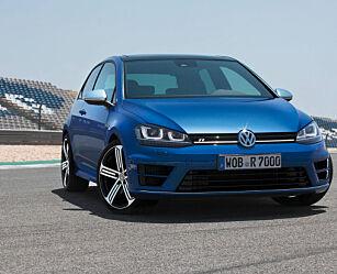 image: Her er VW Golf R