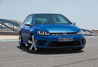 Her er VW Golf R