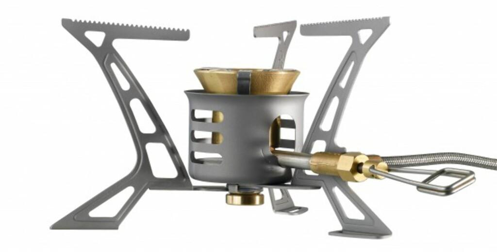 LETT «Ti»-en i navnet kommer av at vindskjerm og ben er laget av titan. Foto: Primus