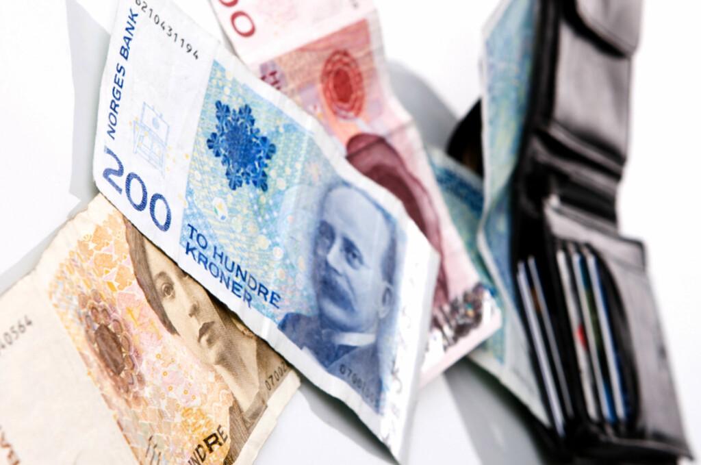I dag er første frist for å betale tilbake restskatt for 435.000 nordmenn. Foto: COLOURBOX.COM