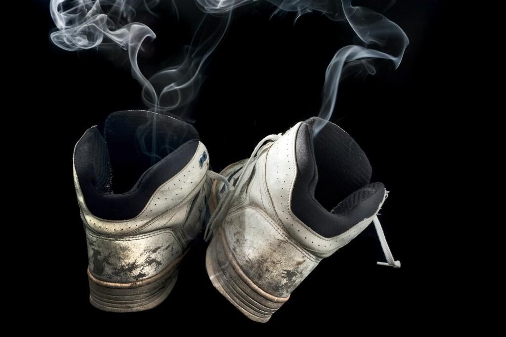 <strong>VOND LUKT: </strong>Sko som stinker er en plage for deg og omgivelsene.  Foto: PantherMedia