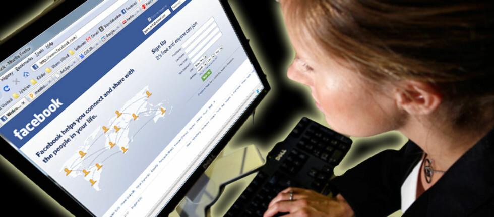 Blir man mer deppa hvis man bruker Facebook mye? Ny studie kan tyde på det. Foto: Per Ervland