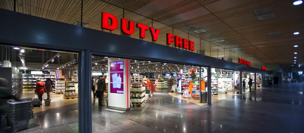 Styr unna taxfreen på flyplassen: Det er i lufta du får de beste prisene. Foto: Per Ervland