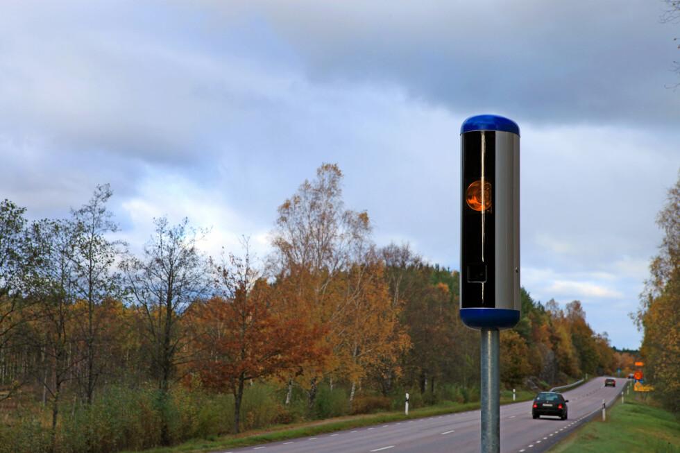 Har du blitt tatt i en av fartsboksene til söta bror, er det ingenting annet å gjøre enn å betale, for i Norden har man et felles-nordisk samarbeide om innkreving av fartsbøter.  Foto: Colourbox.com