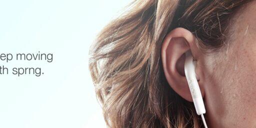 image: 80 kroner fikser Apples ørepropper