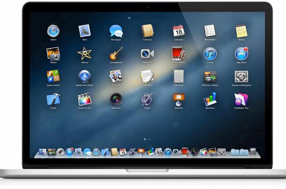 Selv Windows Vista er mer utbredt enn siste MacOS-utgave. Foto: Apple