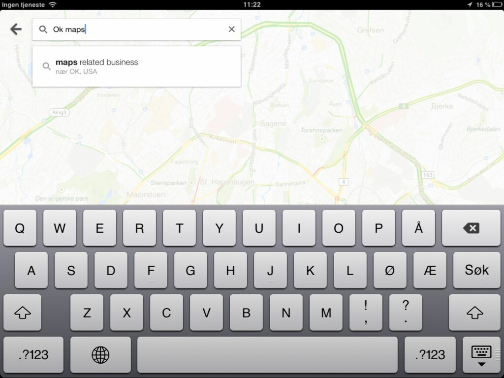 image: Lagre kart offline i Google Maps