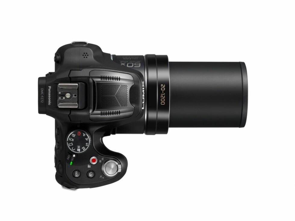 Med en optisk zoom på 60x kombinert med god vidvinkel, er Panasonics nye ultrazoom klar til å fange det aller meste. Foto: Panasonic