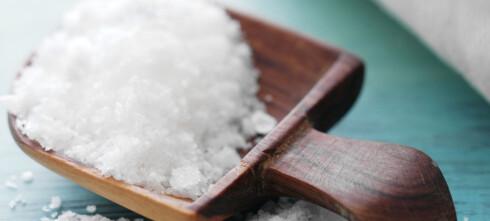 To grunner til å bruke salt på kjøttet