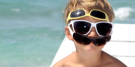 image: Billige briller beskytter like bra