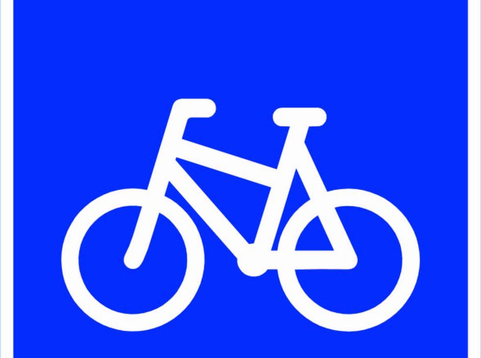 SYKKELVEG: Veg som ved offentlig trafikkskilt er bestemt for syklende. Sykkelveg skal ha fortau, eller gangtrafikken skal ha et tilsvarende parallelt tilbud. Andre kjørende enn syklende må ikke bruke sykkelveg. Foto: Statens vegvesen