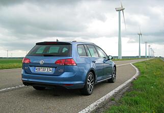 Vi har kjørt nye VW Golf stasjonsvogn