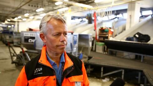 Per Viggo Andersen, fagleder bagasje ved Oslo Lufthavn AS Foto: Per Ervland