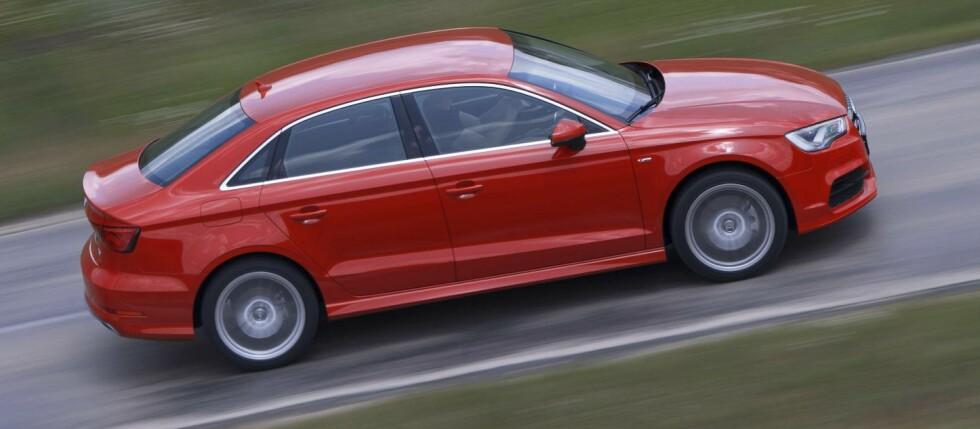 Det er første gnag Audi lanserer en sedan av A3. Denne vil antagelig sette spor.