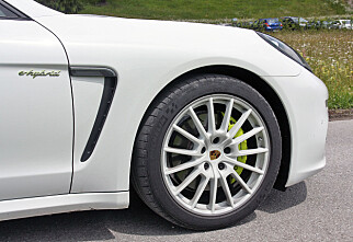 Panamera S E-Hybrid: Porsches nye våpen