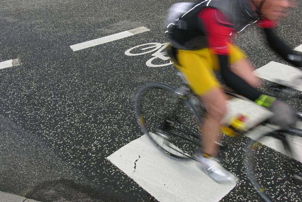 IRRITERENDE: Syklister som kommer fort inn i fotgjengeroverganger, skaper mye utrygghet.