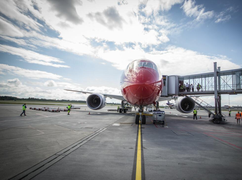 Dreamliner er ikke et lite fly, det skal være sikkert. Foto: Gaute Beckett Holmslet