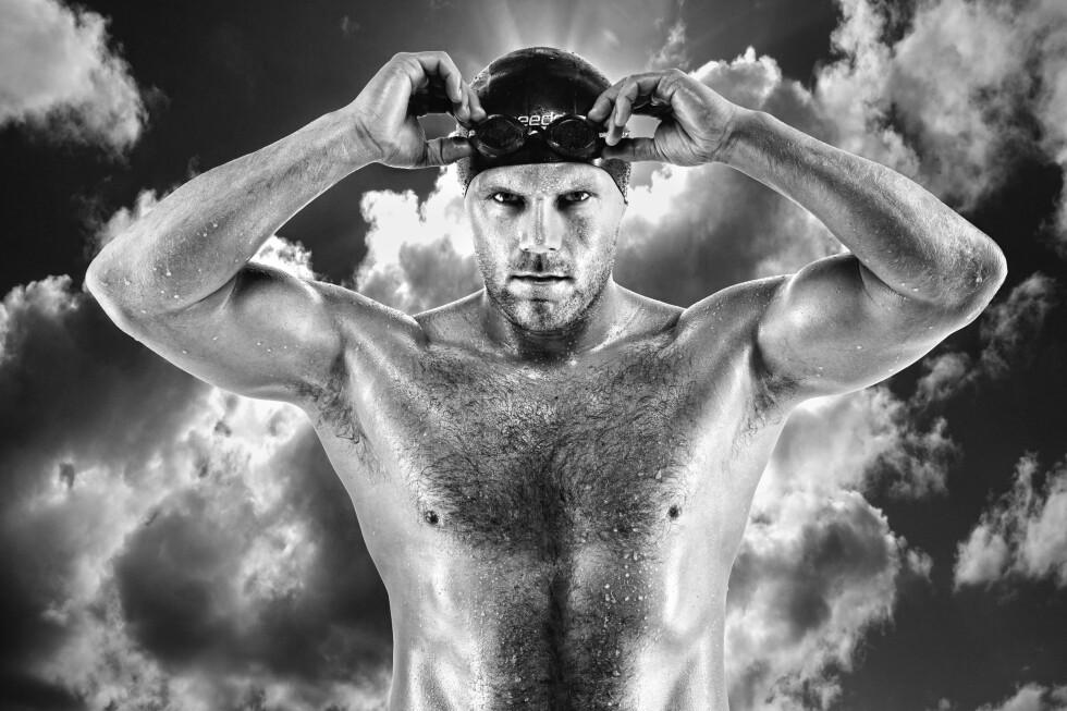 GODT TRENT: Langdistansesvømming krever sin fysikk.  Foto:  Geir Øyvind Gismervik