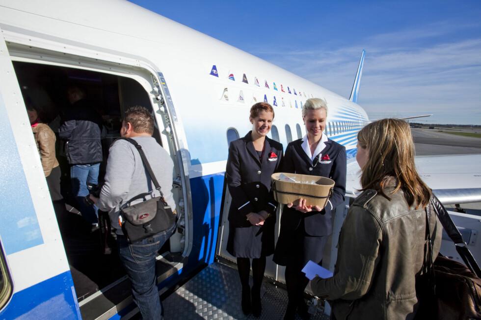 Velkommen om bord! Foto: Per Ervland