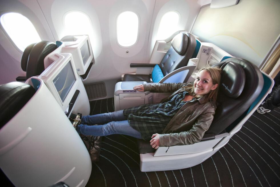 First class imponerte. Dessverre fikk vi ikke testet ut flat bed-funksjonen.  Foto: Per Ervland