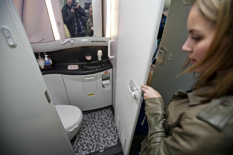 Og hvordan er flytoalettet? Vi er spente! Foto: Per Ervland
