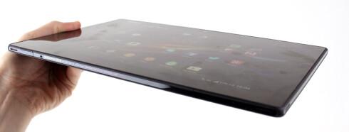 Du får unnagjort det meste av oppgaver med Tablet Z uten at du irriterer deg grønn over hakkete ytelse. Foto: Kirsti Østvang