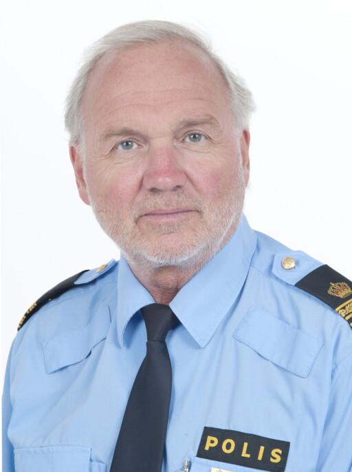 Björ Blixter er pressetalsmann for Polisen i Västra Götaland. Foto: polisen.se