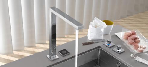 Nå blir kjøkkenkranen digital
