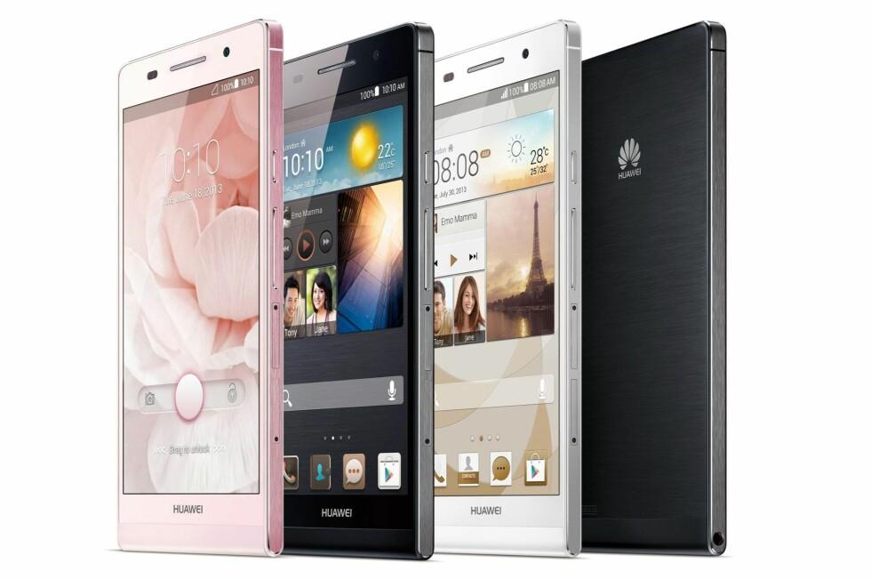 Hvis du er mest opptatt av at smartmobilen skal være tynn, er kanskje Huaweis nyeste noe for deg.  Foto: Huawei