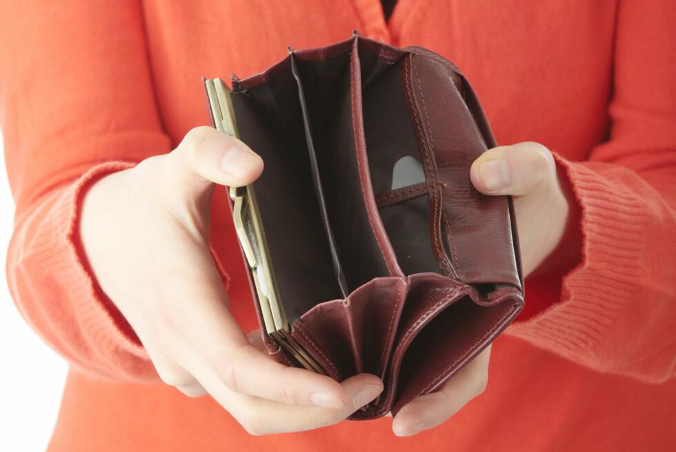 Skylder du penger til staten, risikerer du at de stikker av med skattepengene dine for å dekke det ubetalte kravet. Foto: ALL OVER PRESS